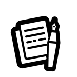 Pen en Papier TRANSPARANT